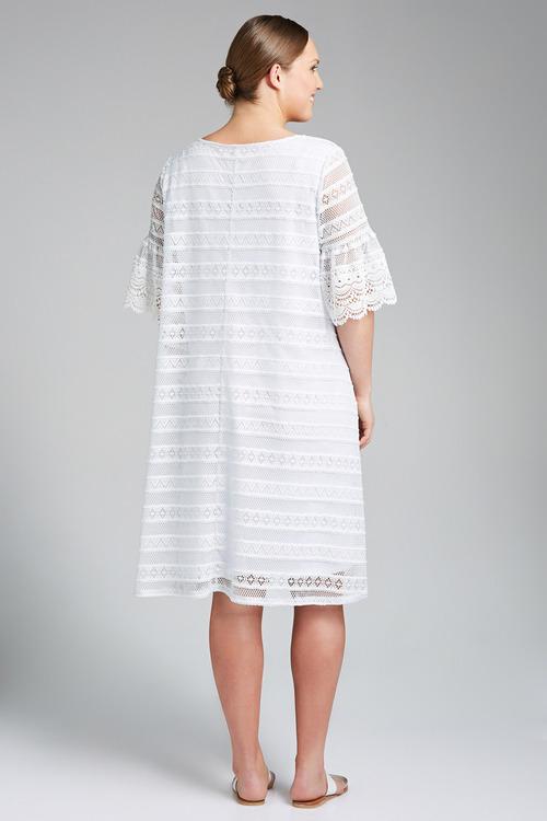 Plus Size - Sara Stretch Lace Dress