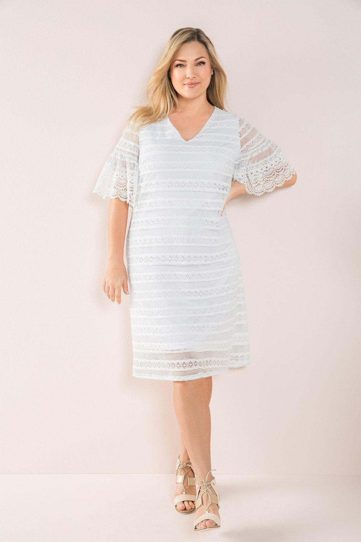 Sara Stretch Lace Dress Online | Shop EziBuy