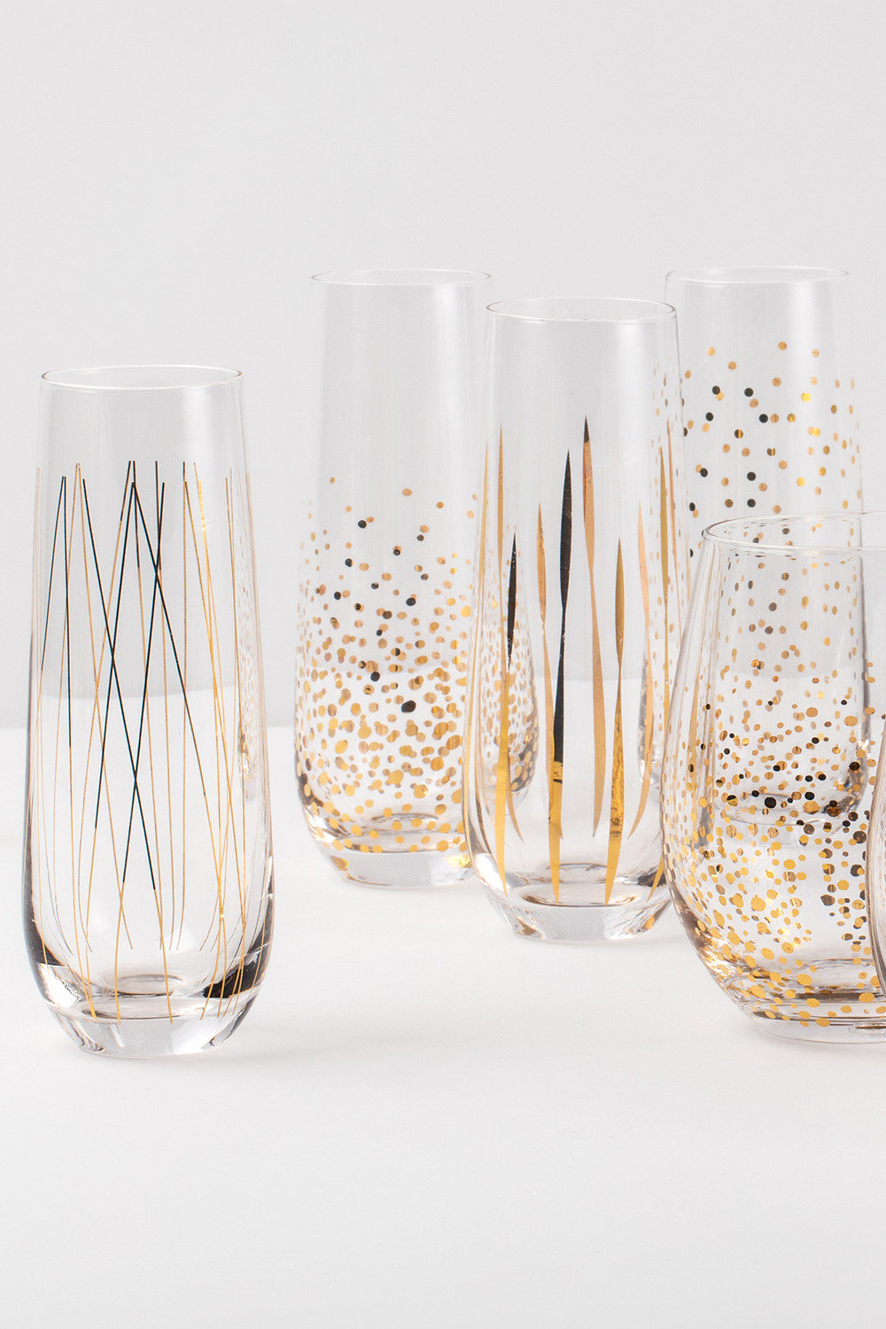 9f1c75543ef Stemless Flute Set of 4 Online   Shop EziBuy Home