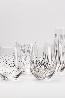 Stemless Wine Glass Set of 4