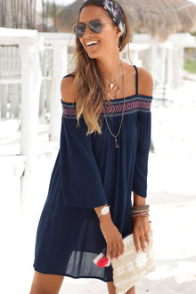 Urban Off Shoulder Dress - 207293