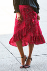 Urban Wrap Ruffle Skirt