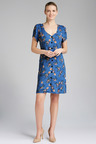 Emerge Button Front Pocket Dress
