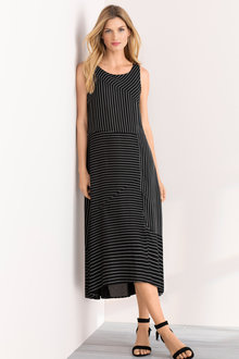 Grace Hill Sleeveless Spliced Dress