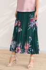 Grace Hill Pleat Maxi Skirt