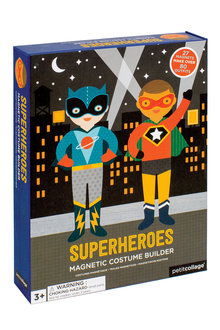 Petitcollage Superheroes Magnetic Dress Up