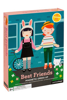 Petitcollage Best Friends Magnetic Dress Up