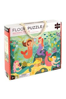 Petitcollage Mermaid Friends Floor Puzzle