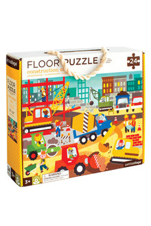 Petitcollage Construction Site Floor Puzzle