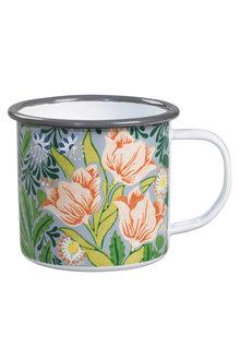 Victoria & Albert Enamel Mug