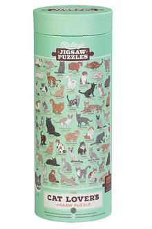 Ridleys Cat Lovers 1000 Piece Jigsaw