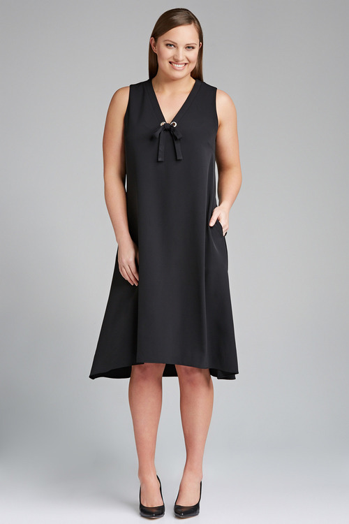 Plus Size - Sara Eyelet Dress