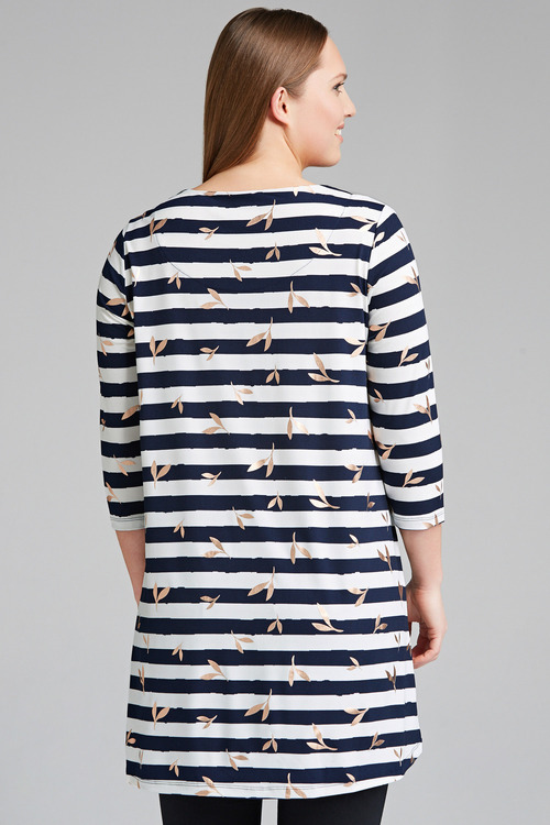 Plus Size - Sara Angled Hem Tunic