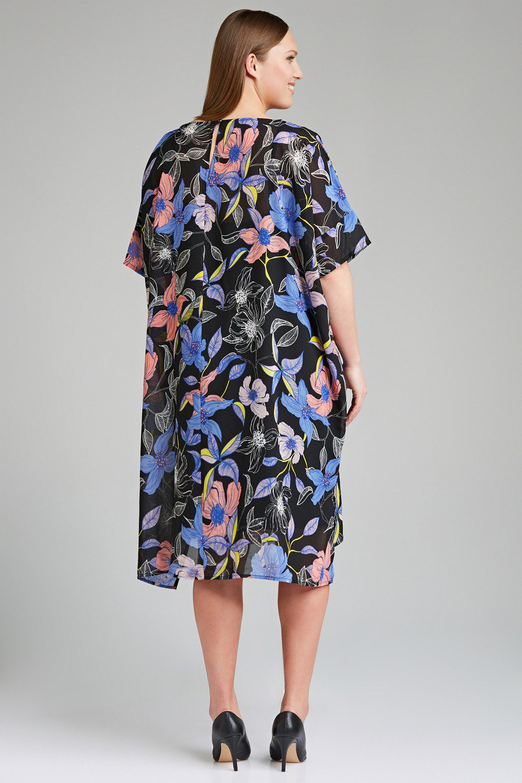 01c21508ebe Sara Chiffon Tunic Dress Online | Shop EziBuy