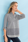 Capture Cotton Stripe Shirt