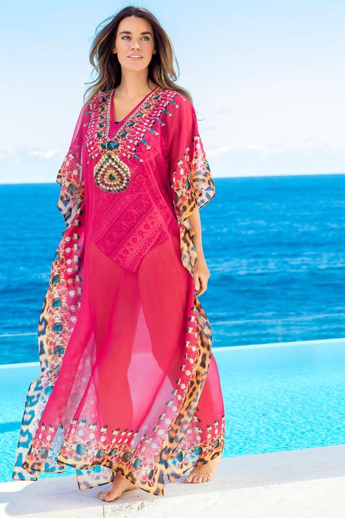Plus Size - Sara Maxi Dress Cover-up