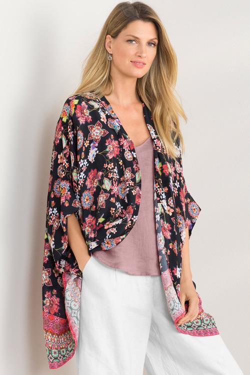 Grace Hill Drape Kimono