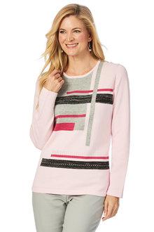 W.Lane Colour Block Knit