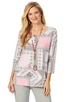 W.Lane Patchwork Tile Top