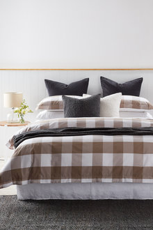 Vichy Duvet Cover Set - 207881