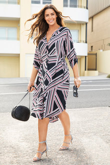 Plus Size - Sara Shirt Dress