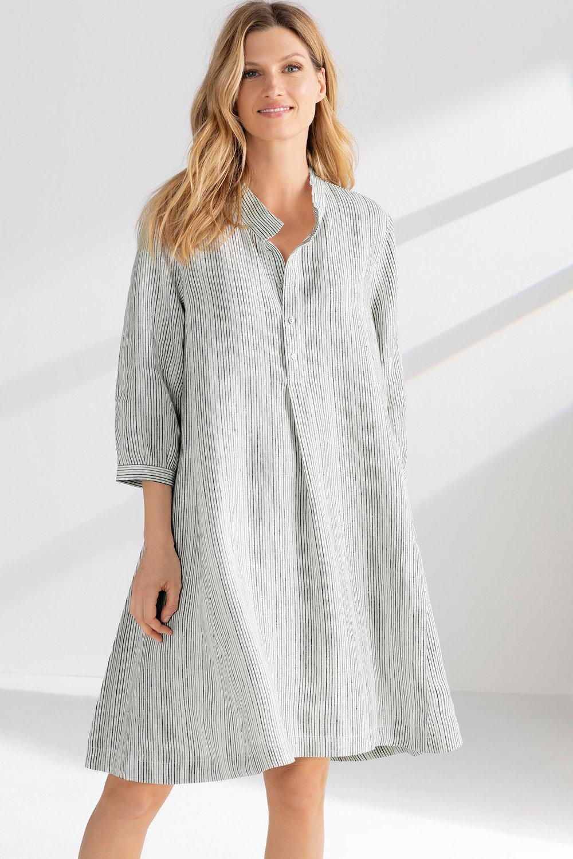 e26f012079 Grace Hill Linen Swing Dress Online