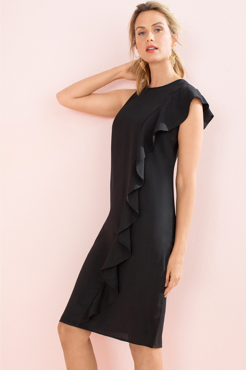 Capture Ruffle Dress