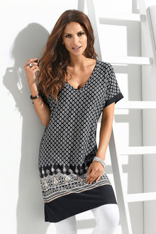 Euro Edit Tile Printed Tunic