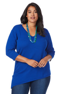 Plus Size - Beme Popcorn Knit Jumper
