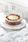 Round Marble Serving Board With Glass Dome