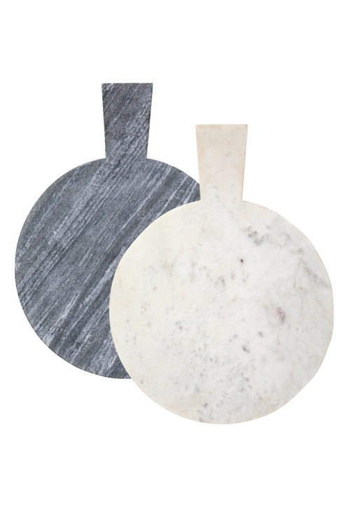 Round Marble Serving Board