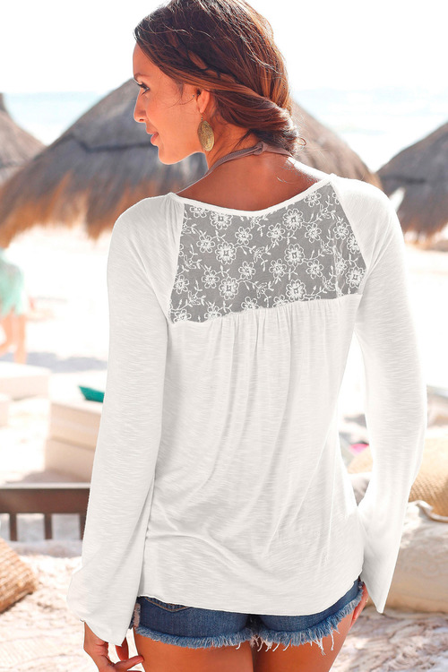 Urban Lace Back Detail Top