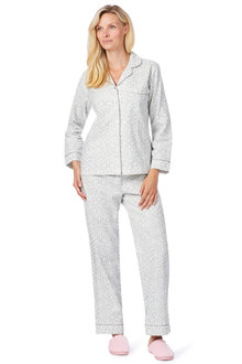Noni B Dara Pajama Flanelette Set