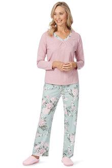 Noni B Ellie Pajama Set Jersey