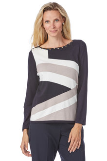 Noni B Georgia Knit Jumper - 208046