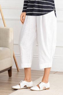 Grace Hill Slouch Linen Pant