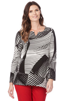 W.Lane Easy Elegance Tunic - 208189