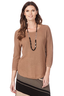 W.Lane Pointelle Knit