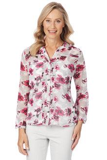 Noni B Sadie Shirt Printed