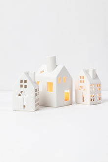 Ceramic House Tealight