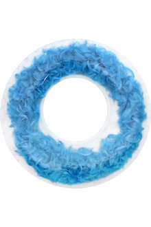 Air Time Swim Ring with Feathers
