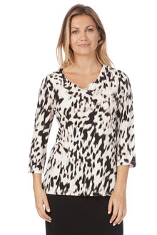 Noni B Bella Top Printed - 208308