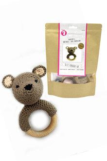 Hardicraft DIY Baby Bear Rattle Crochet Kit