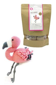 Hardicraft Coco Flamingo DIY Crochet Kit