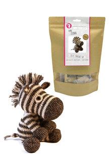Hardicraft Dirk Zebra DIY Crochet Kit