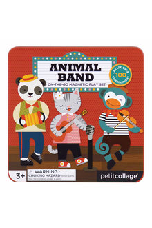 Petitcollage Animal Band Magnetic Play Set