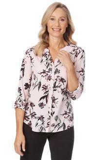 Noni B Stephanie Shirt Printed