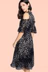 Heine Off Shoulder Printed Dress
