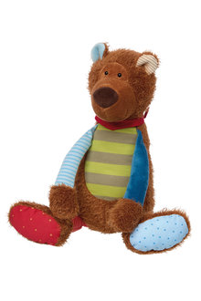 Sigikid Stripey Bear Patchwork Sweety