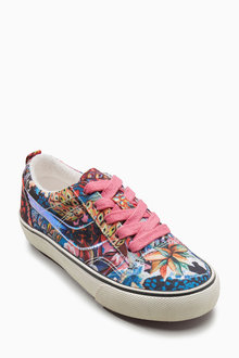 Next Laced Trainers (Older Girls) - 208504